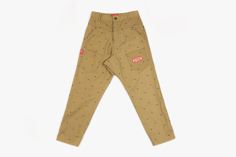 아이스비스킷 - Multi ice bar cotton baggy pants SPECIAL PRICE