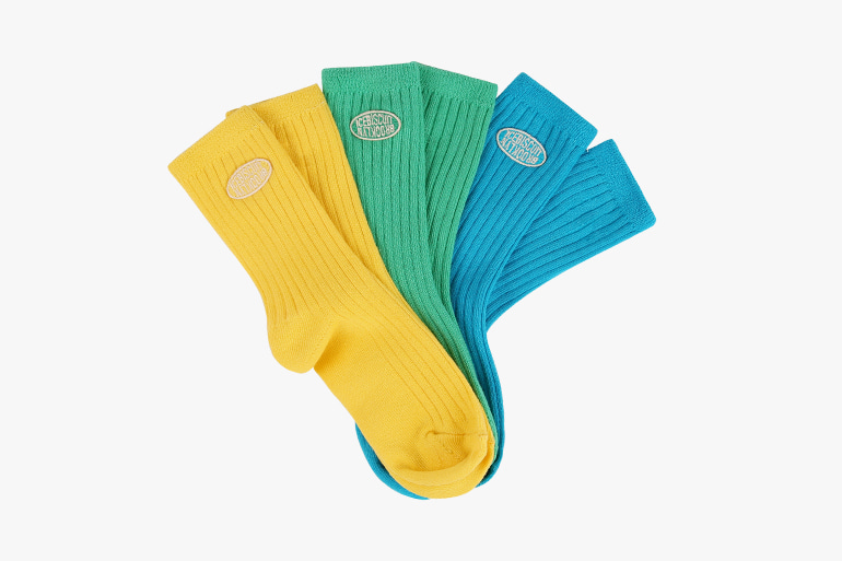 아이스비스킷 - Icebiscuit pastel ribbed socks