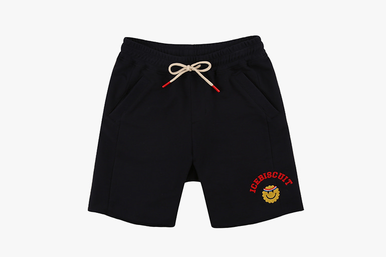 아이스비스킷 - Athletic smile sweat shorts