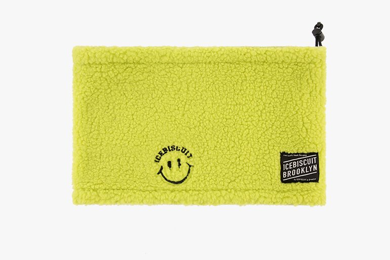 아이스비스킷 - Smile fluffy neck warmer