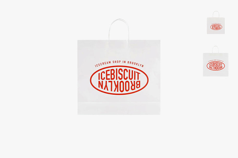 아이스비스킷 - New IB shopping bag (S/M/L)