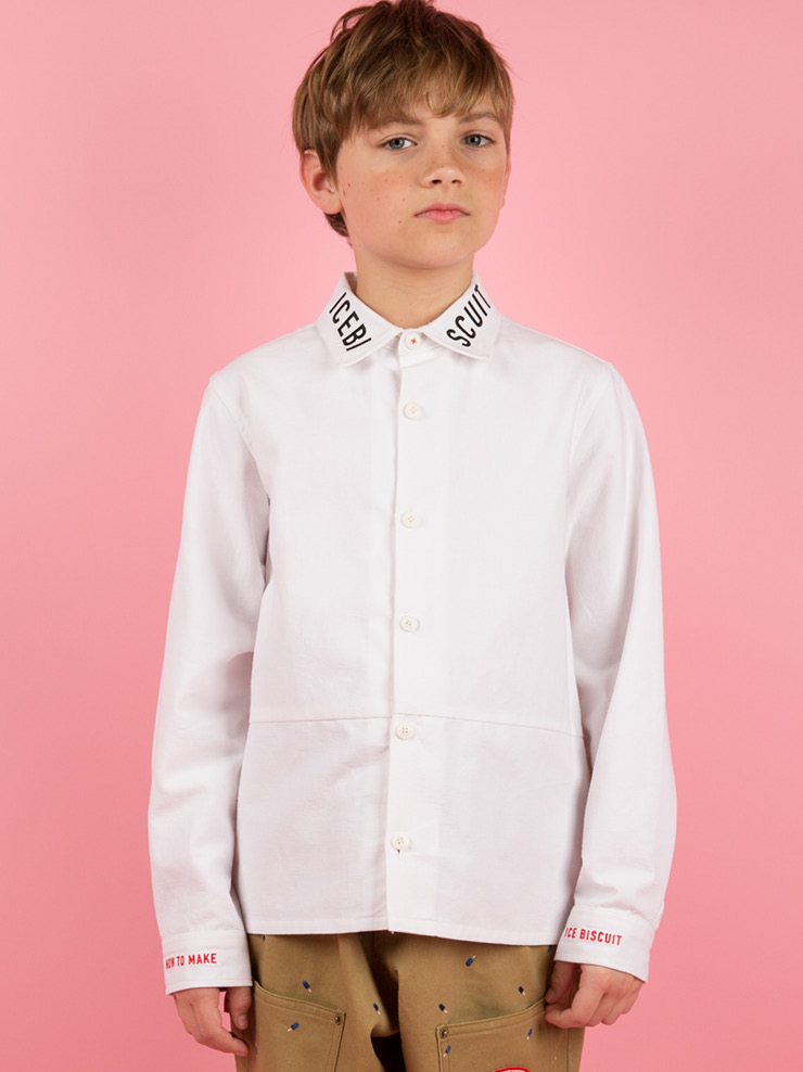 아이스비스킷 - Icebiscuit oxford white shirts 30% sale