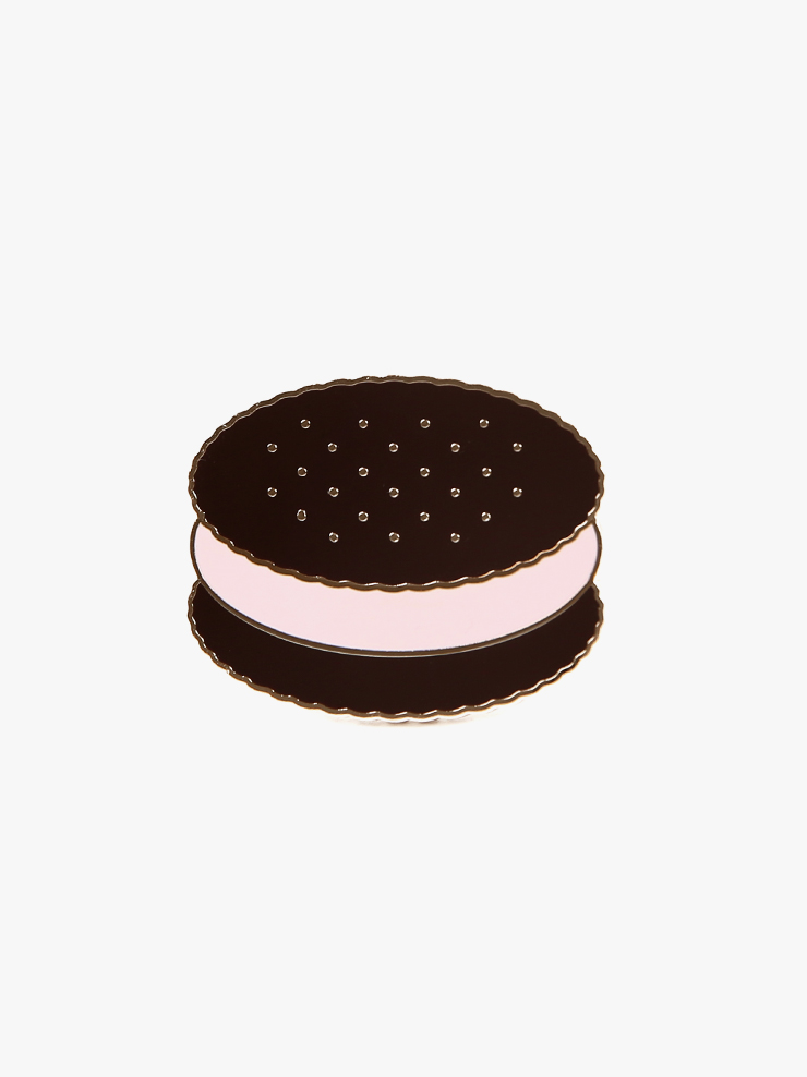 아이스비스킷 - Ice cream sandwich badge