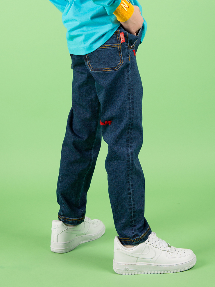 아이스비스킷 - Ted straight-leg denim pants 30% sale