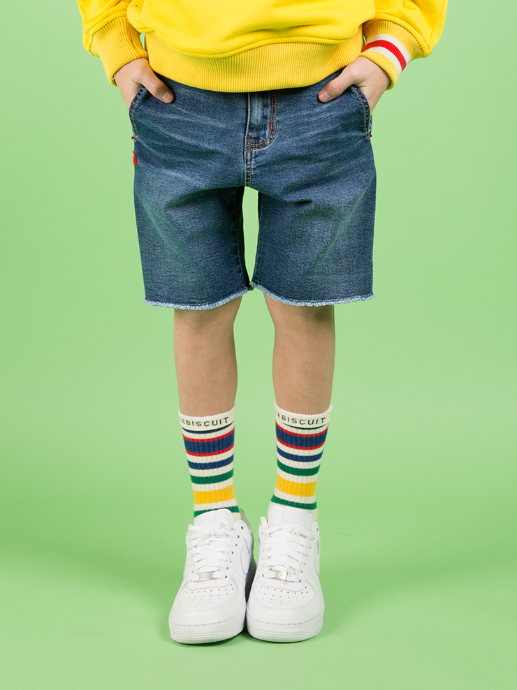 아이스비스킷 - Ted straight denim shorts 30% sale