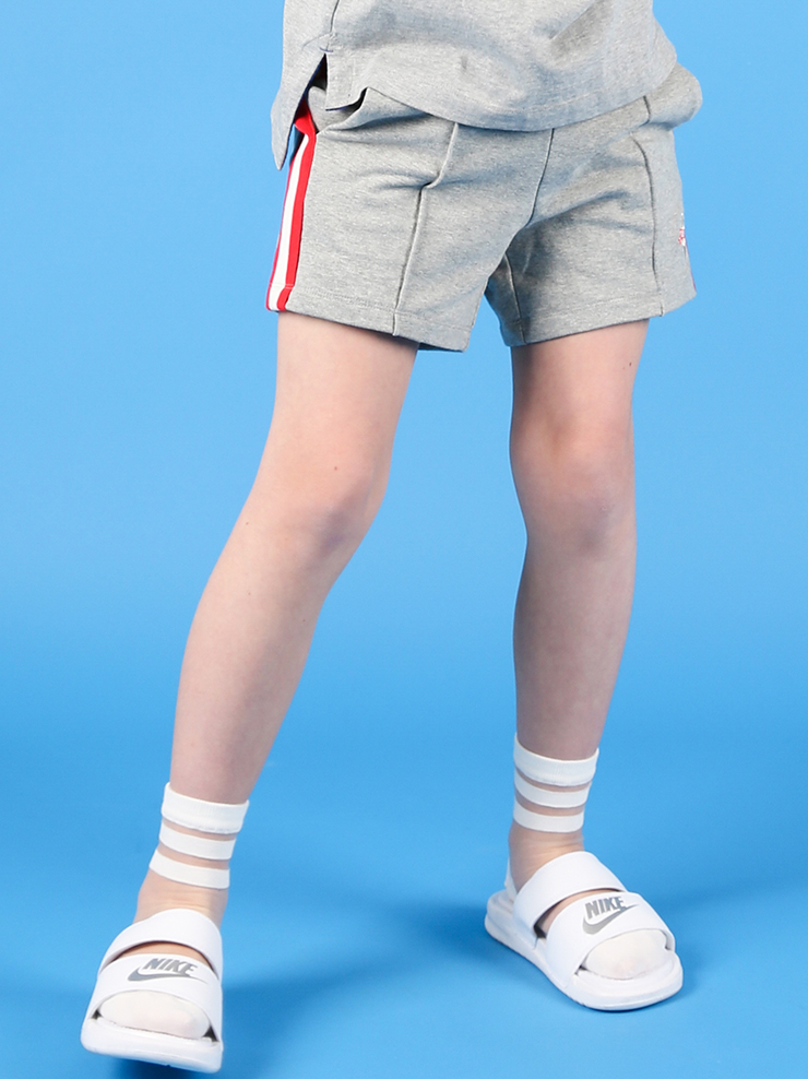 아이스비스킷 - Stripe rib point sweat shorts 30% sale