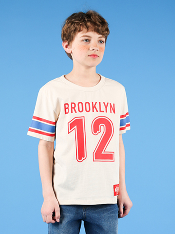 아이스비스킷 - Brooklyn campus short sleeve tee 30% sale