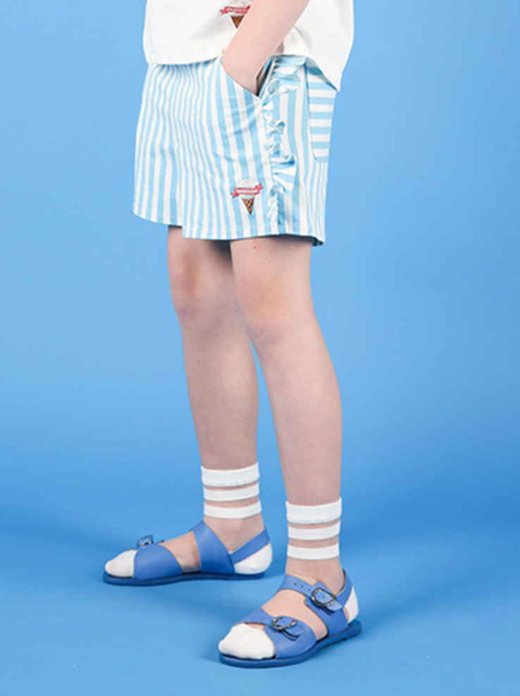 아이스비스킷 - Icecream ruffle point shorts 30% sale