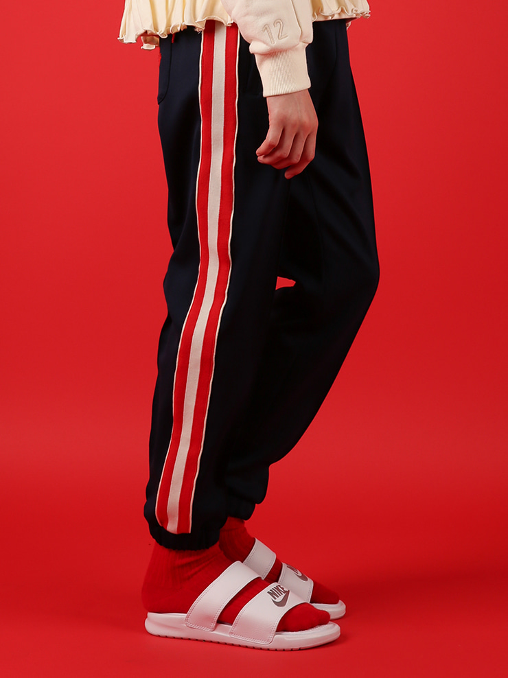 아이스비스킷 - Wendy jersey track pants 30% sale