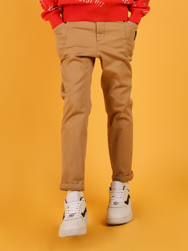 아이스비스킷 - Ted out pocket tapered-fit pants