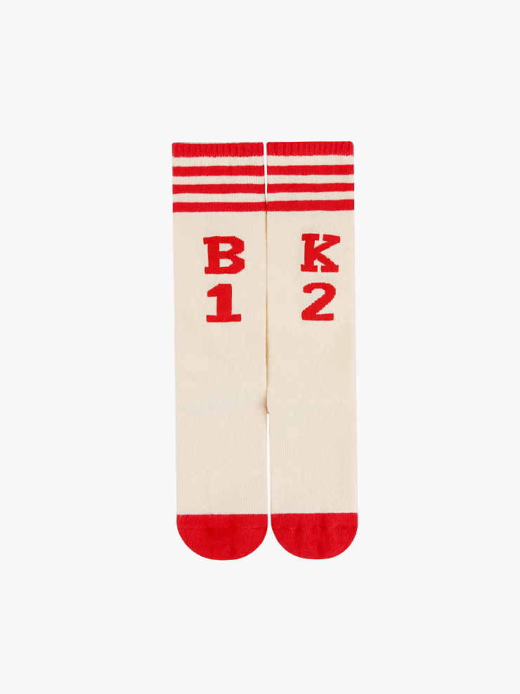 아이스비스킷 - BK12 stripe knee socks