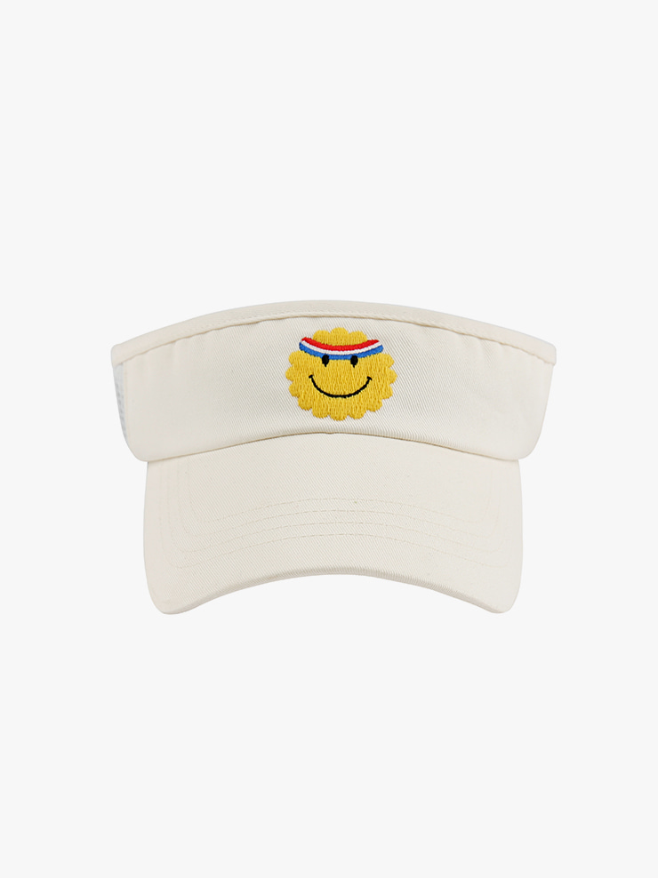 아이스비스킷 - Athletic smile sun visor