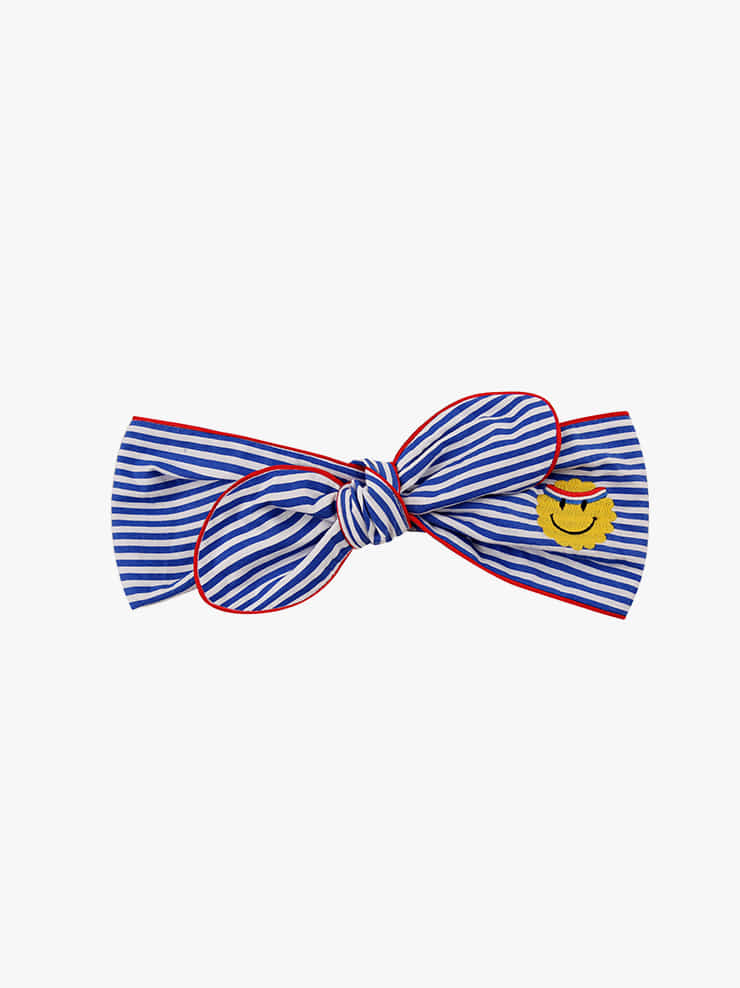 아이스비스킷 - Athletic smile stripe headband