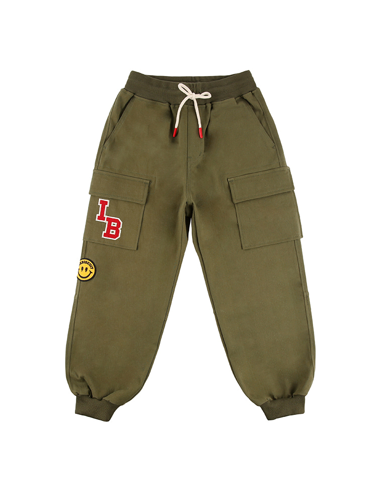 아이스비스킷 - Smile wappen cargo pants 20% Sale