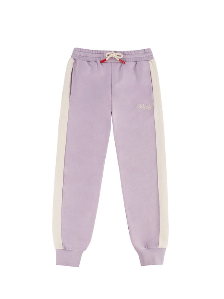 아이스비스킷 - Wendy color block sweat pants 20% sale