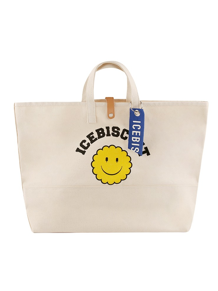 아이스비스킷 - Icebiscuit smile oxford cotton bag