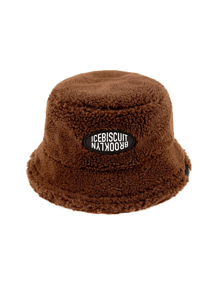 아이스비스킷 - Icebiscuit fluffy bucket hat
