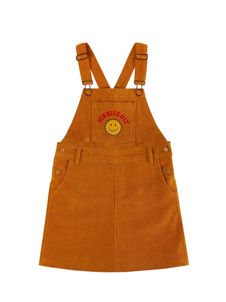 아이스비스킷 - Smile corduroy overall dress 20% Sale