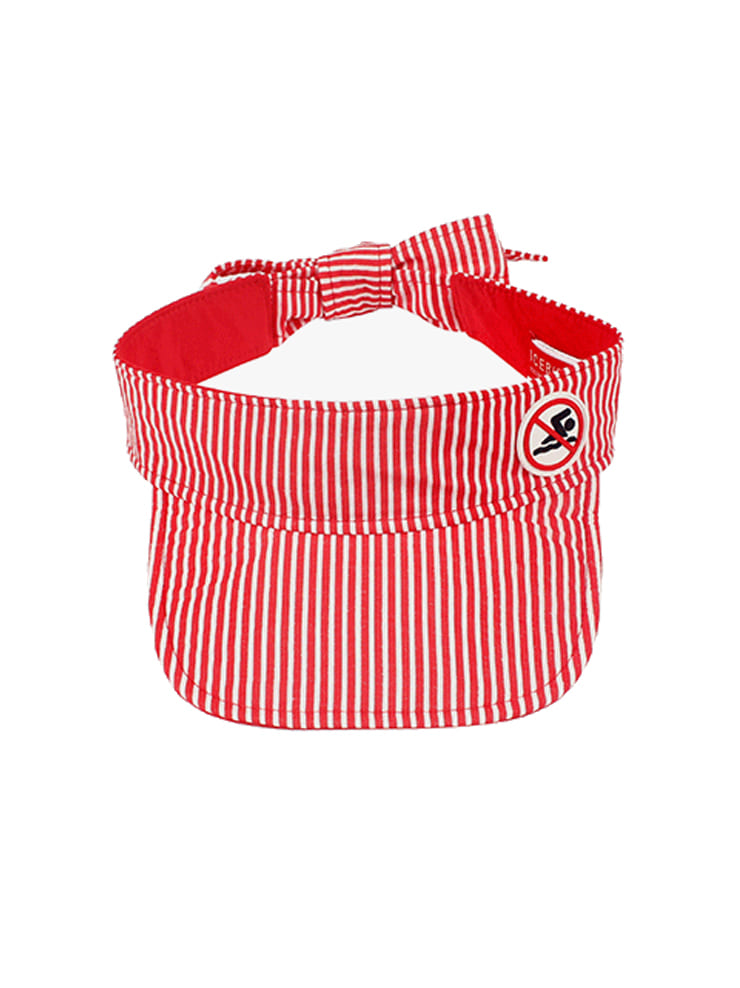 아이스비스킷 - No swim stripe sun visor