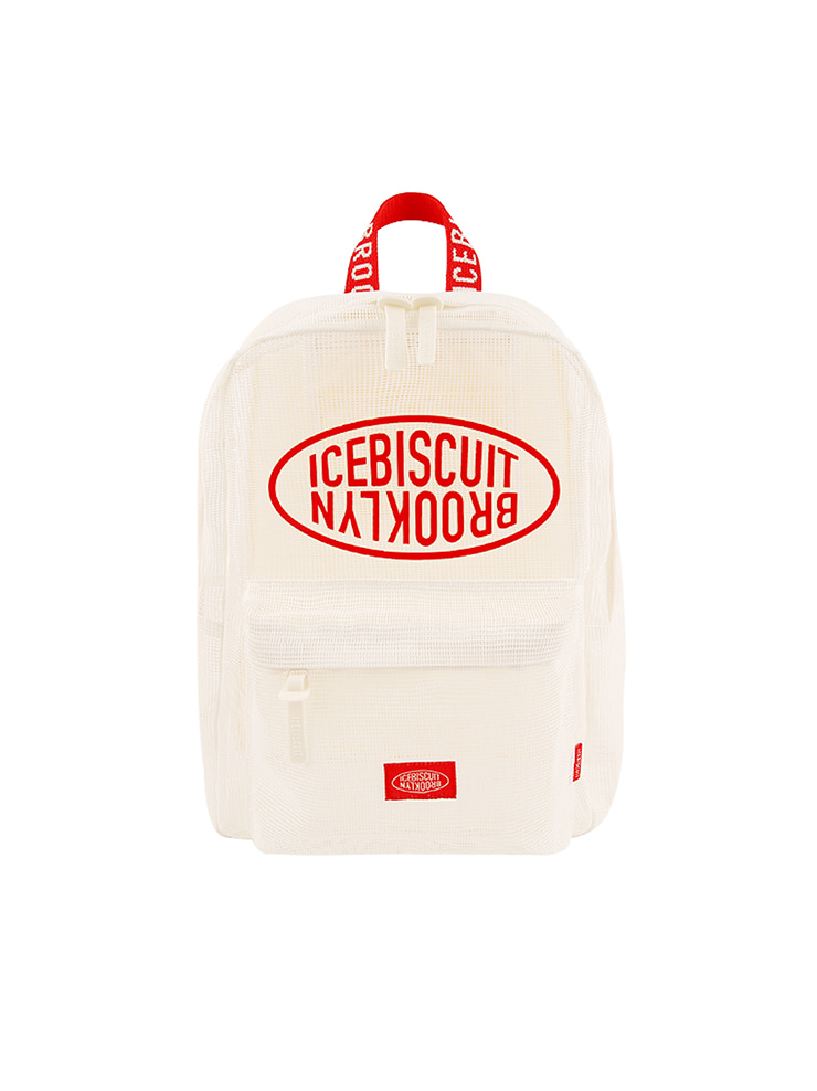 아이스비스킷 - Icebiscuit symbol mesh backpack