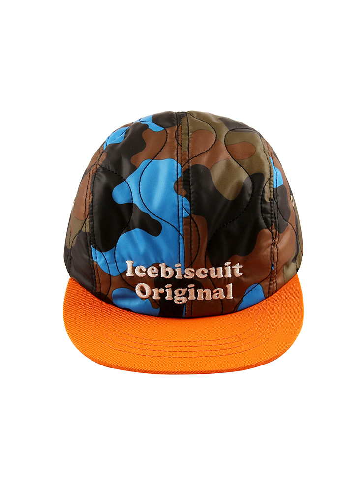 아이스비스킷 - Icebiscuit camo camp cap 50% sale