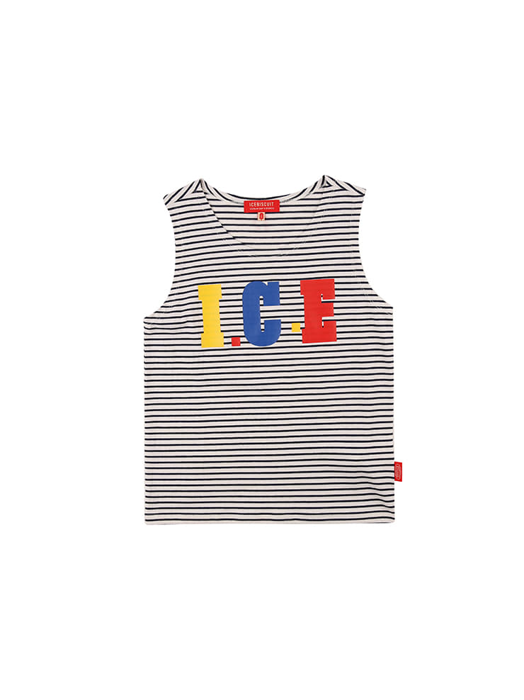 아이스비스킷 - Ice stripe tank top 20% sale