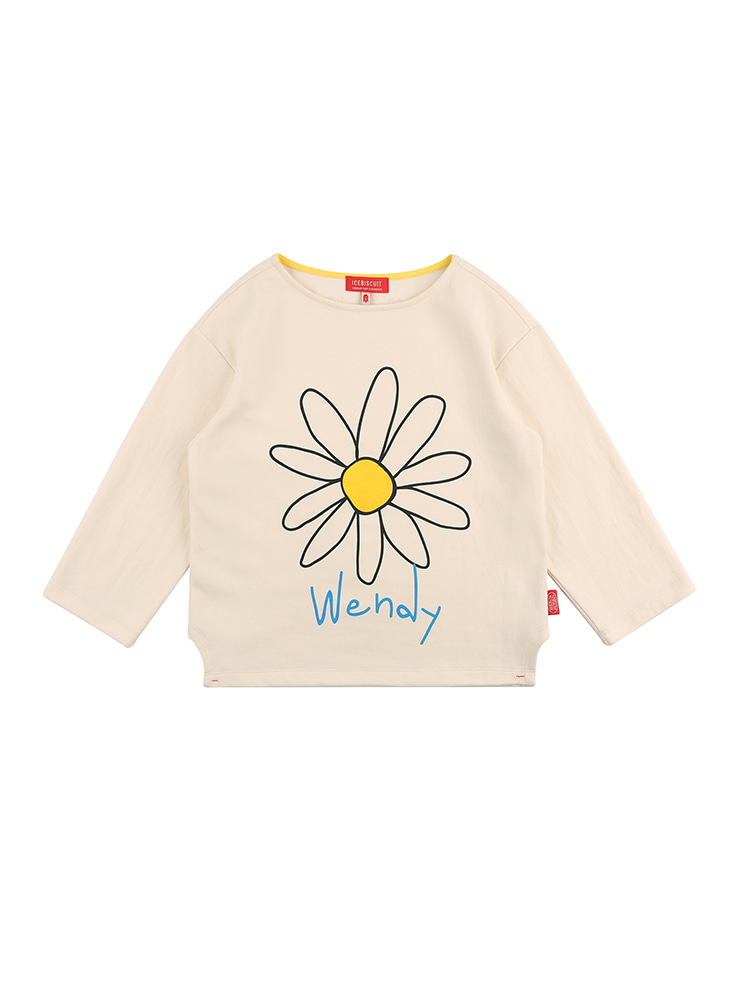 아이스비스킷 - Wendy's Daisy long sleeve tee 20% sale
