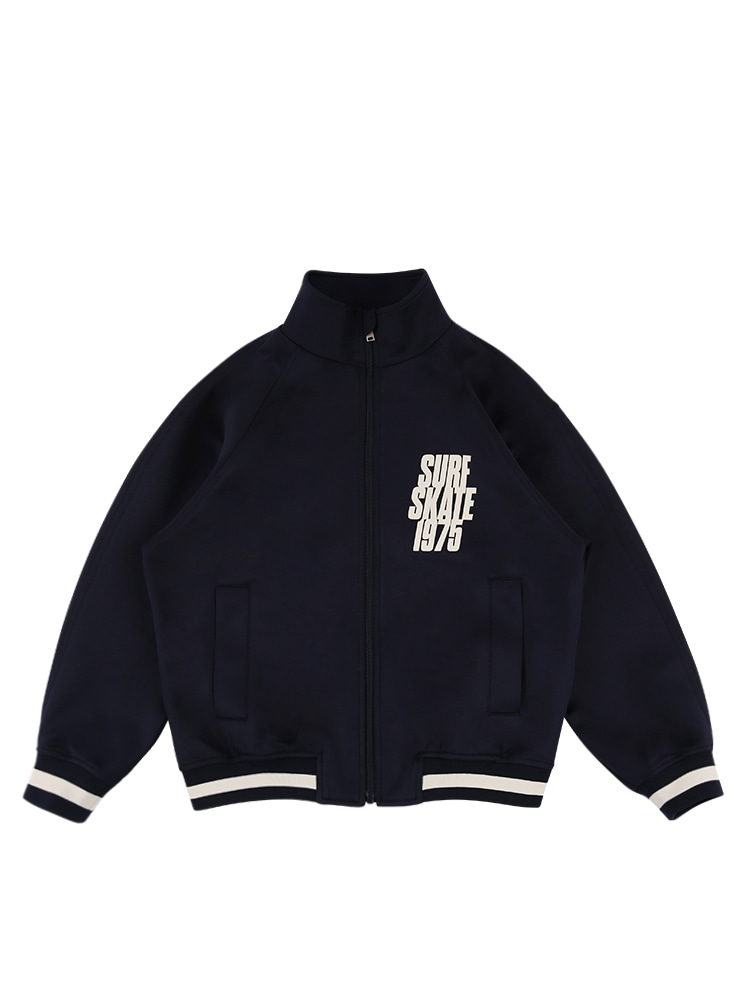 아이스비스킷 - Skate 1975 high-neck track jacket