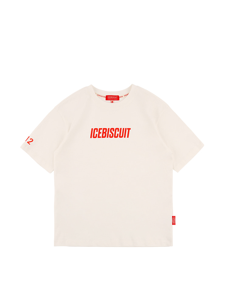 아이스비스킷 - Icebiscuit logo short sleeve tee
