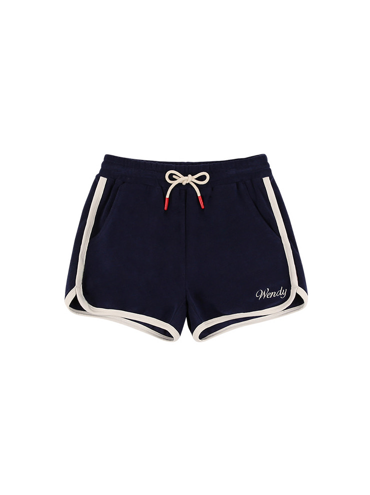 아이스비스킷 - Wendy cotton terry fitted shorts