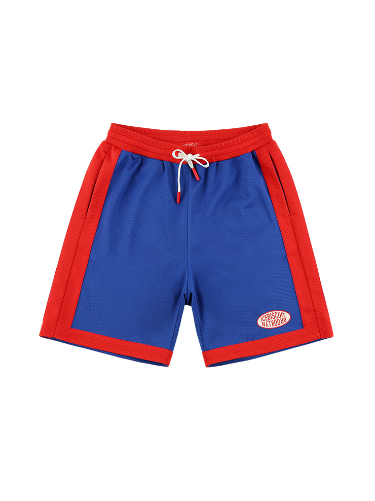 아이스비스킷 - Icebiscuit athletic jersey mesh shorts
