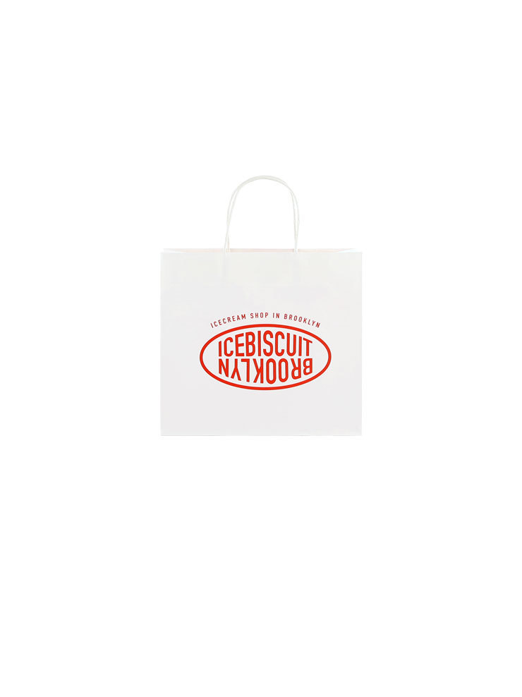 아이스비스킷 - New IB shopping bag (S)