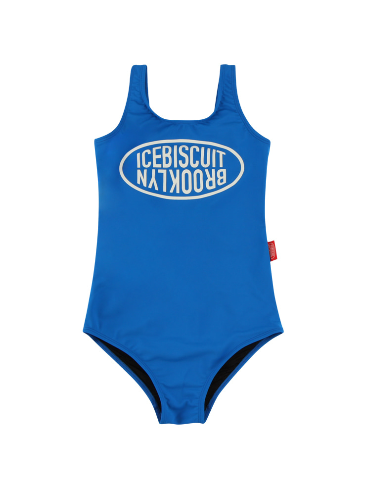 아이스비스킷 - Icebiscuit symbol logo one-piece swimsuit