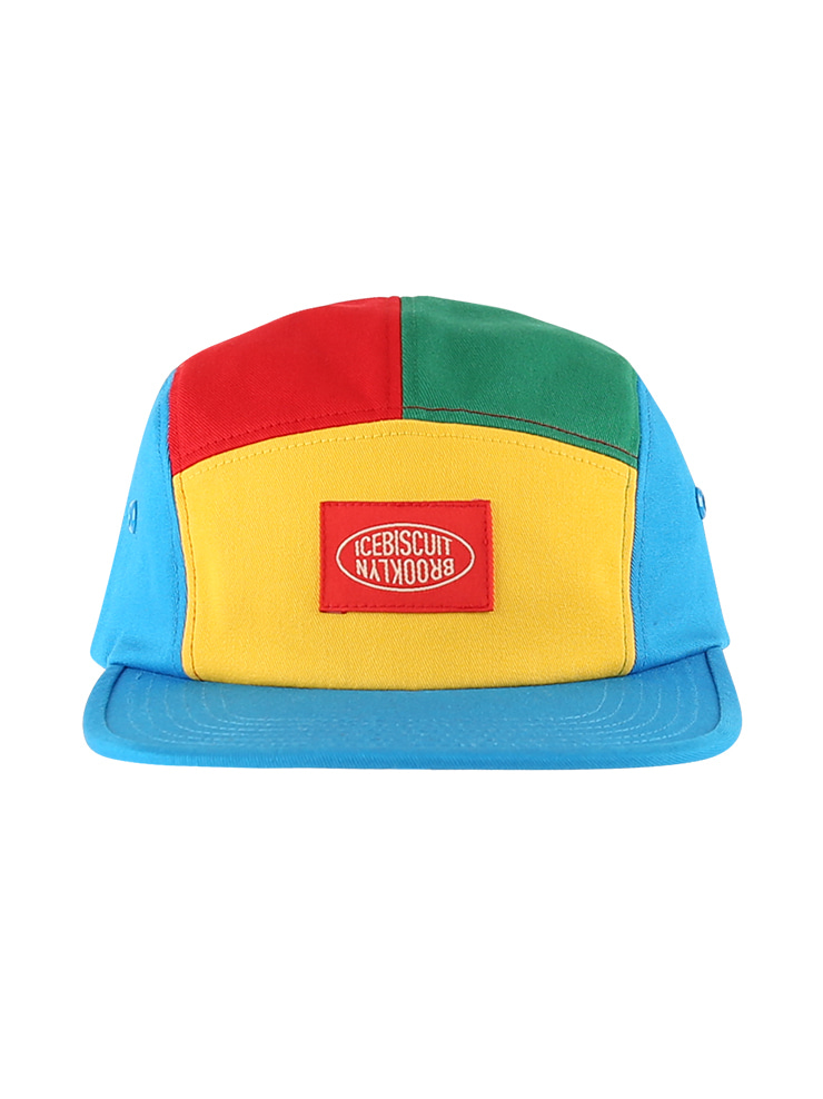 아이스비스킷 - Icebiscuit color block camp cap