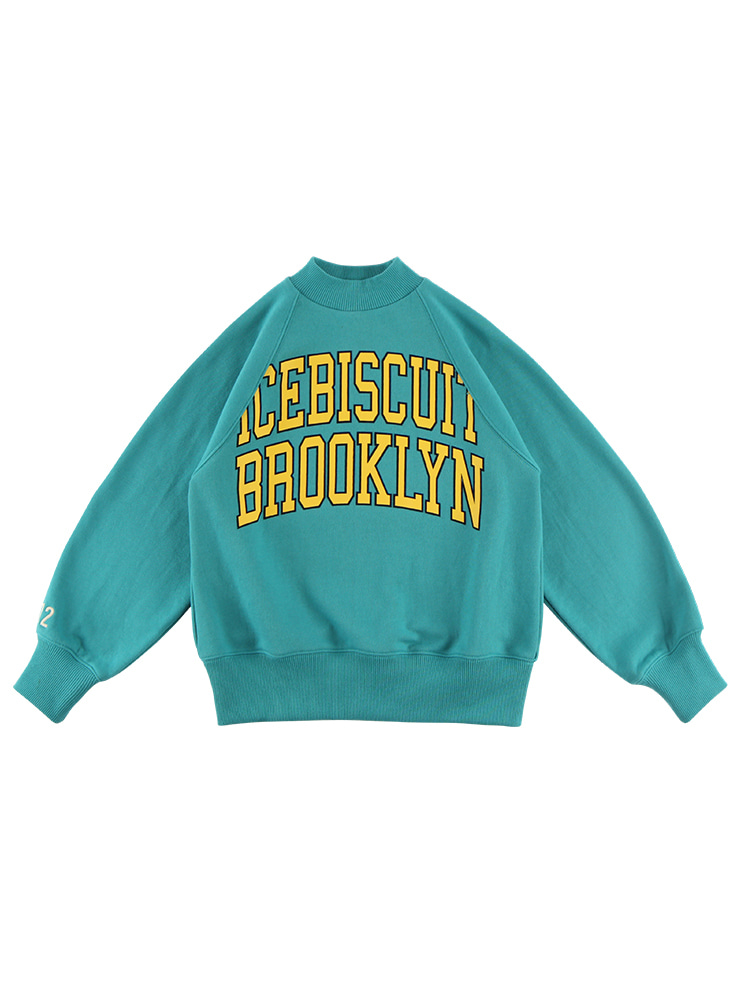 아이스비스킷 - Icebiscuit half neck sweatshirt 20% sale