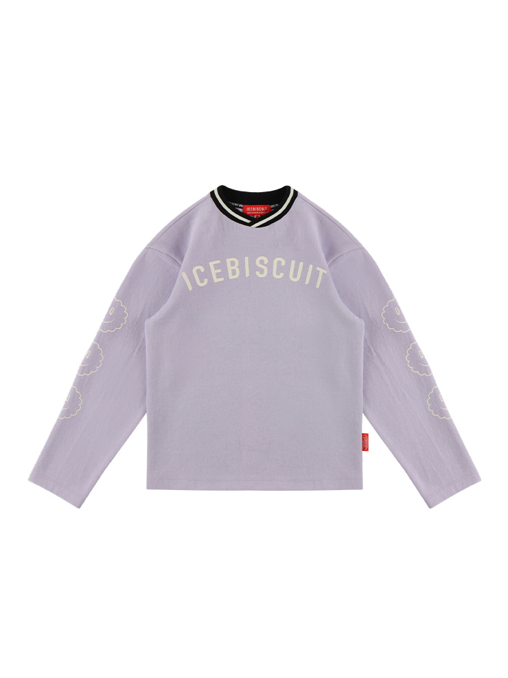 아이스비스킷 - Icebiscuit collar point long sleeve tee 20% sale