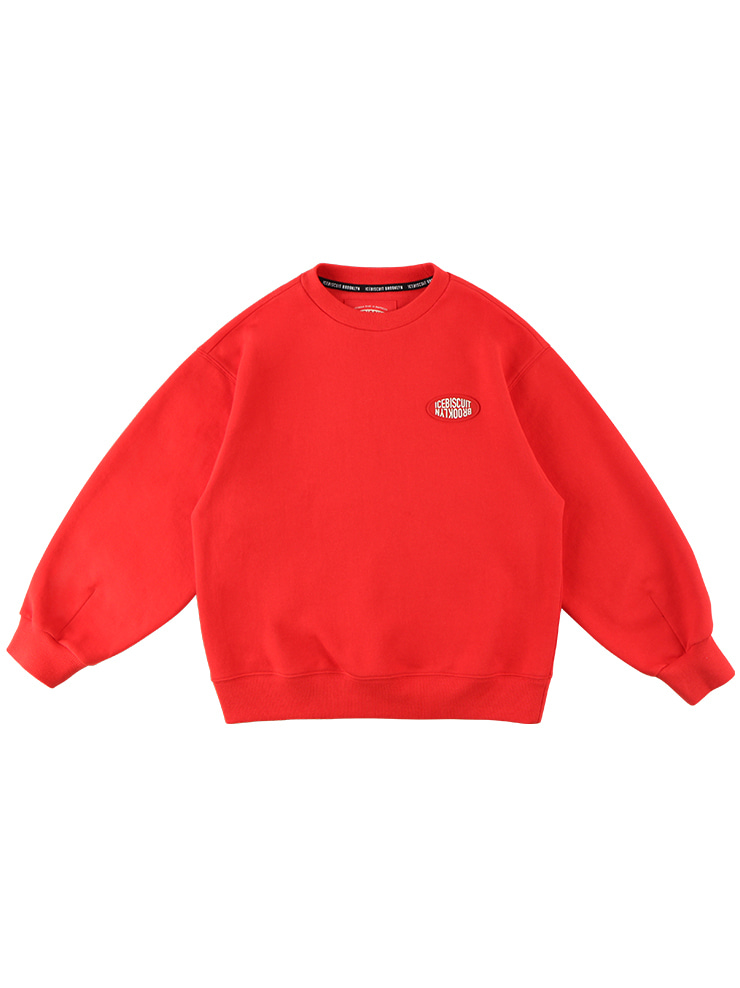 아이스비스킷 - Icebiscuit quiz smile point sweatshirt