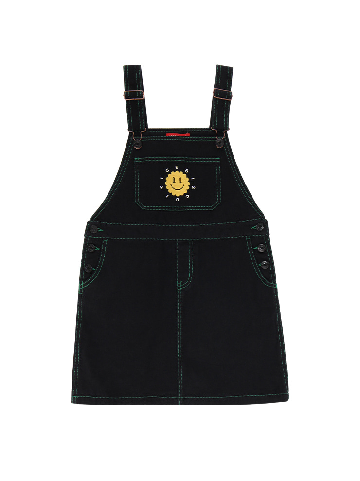 아이스비스킷 - Quiz smile overall dress 20% sale