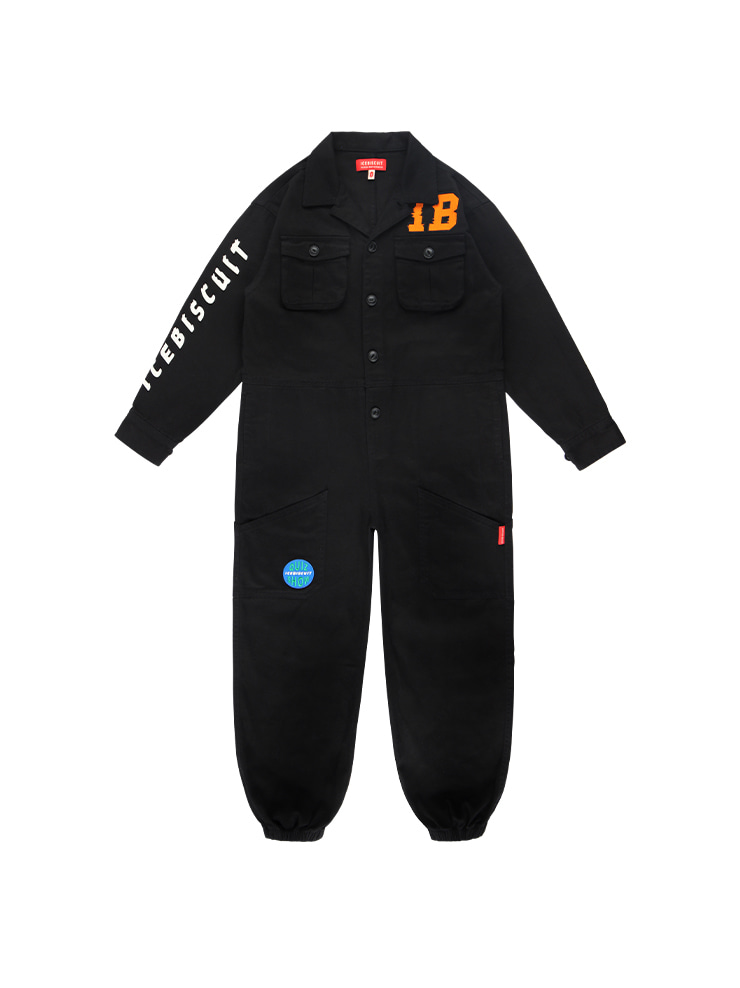 아이스비스킷 - IB-embroidered cottonboiler suit