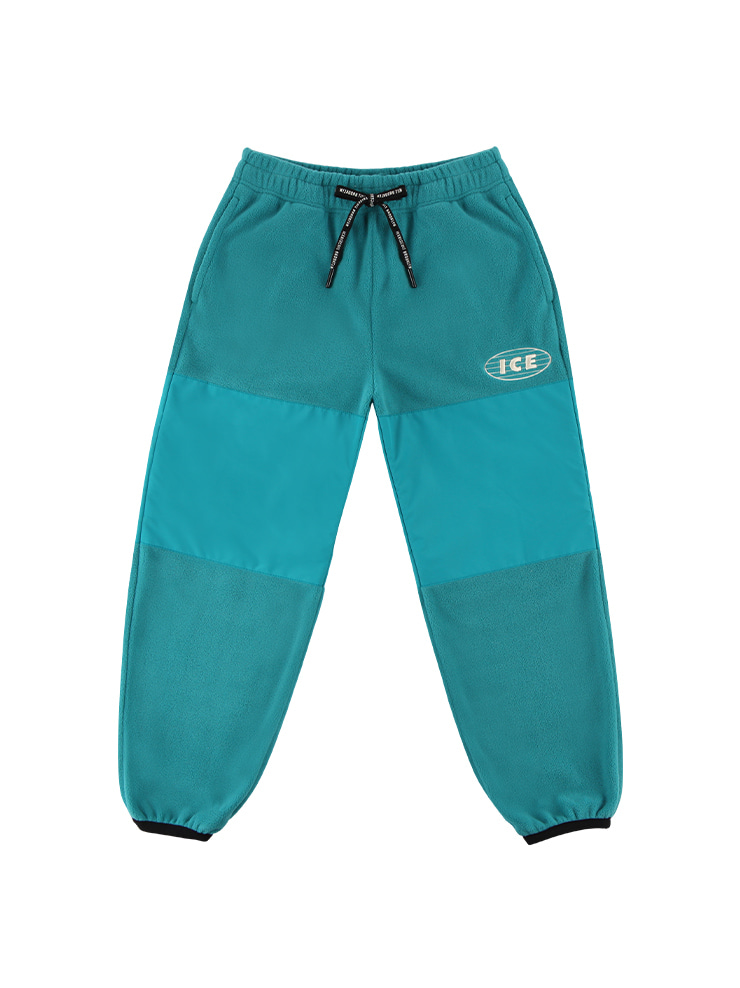 아이스비스킷 - ICE-embroidered fleece pants
