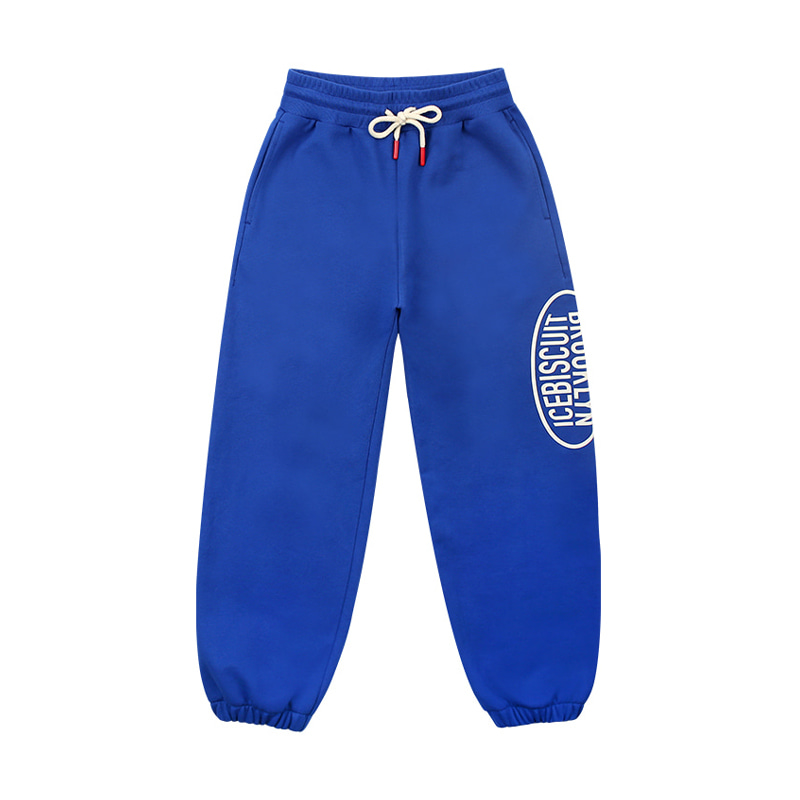 아이스비스킷 - Icebiscuit classic symbol logo cotton sweat pants
