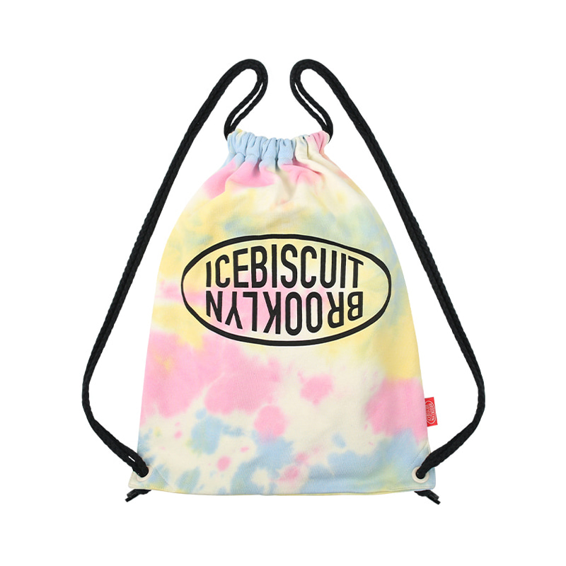 아이스비스킷 - Icebiscuit tie-dye sweat back pack