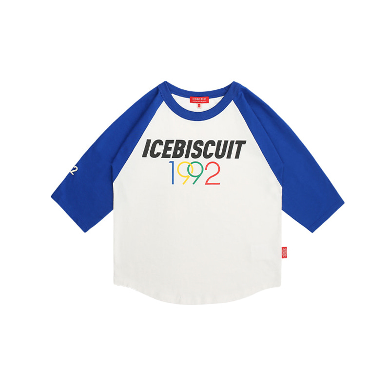 아이스비스킷 - 1992 Icebiscuit three quarter raglan tee 20% sale