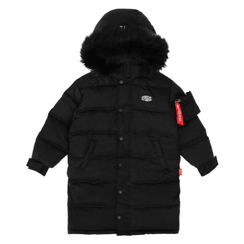 아이스비스킷 - Icebiscuit reflective long down coat 20% sale