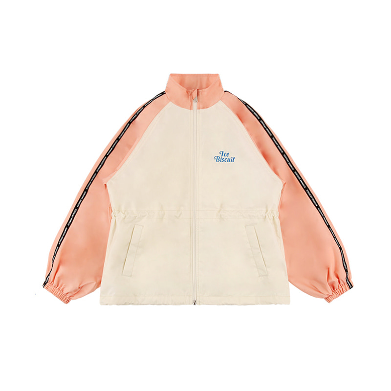 아이스비스킷 - Icebiscuit tape logo windbreaker 10% sale