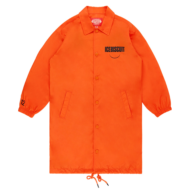 아이스비스킷 - Icebiscuit long coach jacket 10% sale