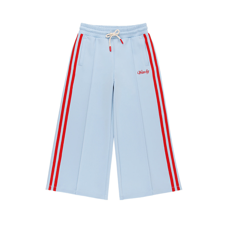 아이스비스킷 - Wendy wide track pants 10% sale