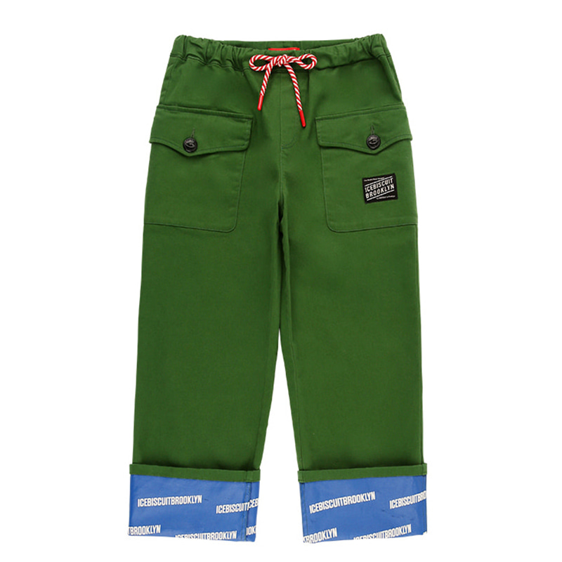 아이스비스킷 - Ted side pocket roll-up pants 20% sale