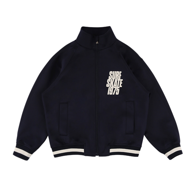 아이스비스킷 - Skate 1975 high-neck track jacket 10% sale