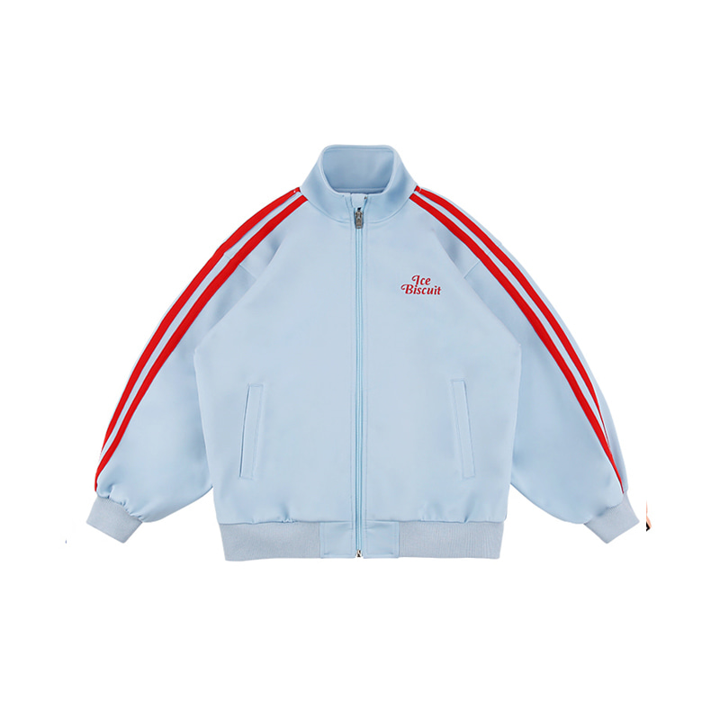아이스비스킷 - Icebiscuit high neck track jacket 10% sale